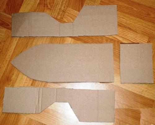 Как сделать корабль в домашних условиях из картона
