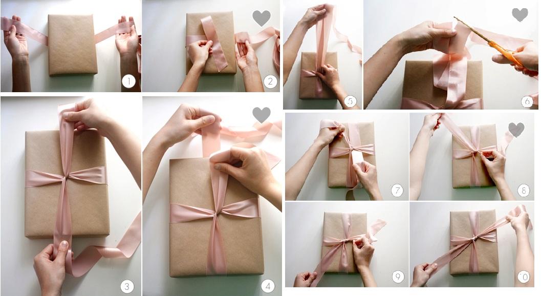 Упаковка подарков своими руками инструкция 22