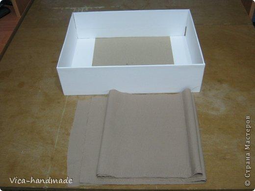 Как красиво обтянуть коробочку тканью. Два варианта