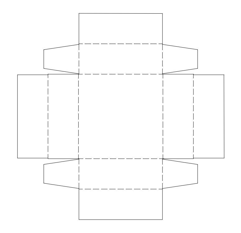 Коробка своими руками шаблоны