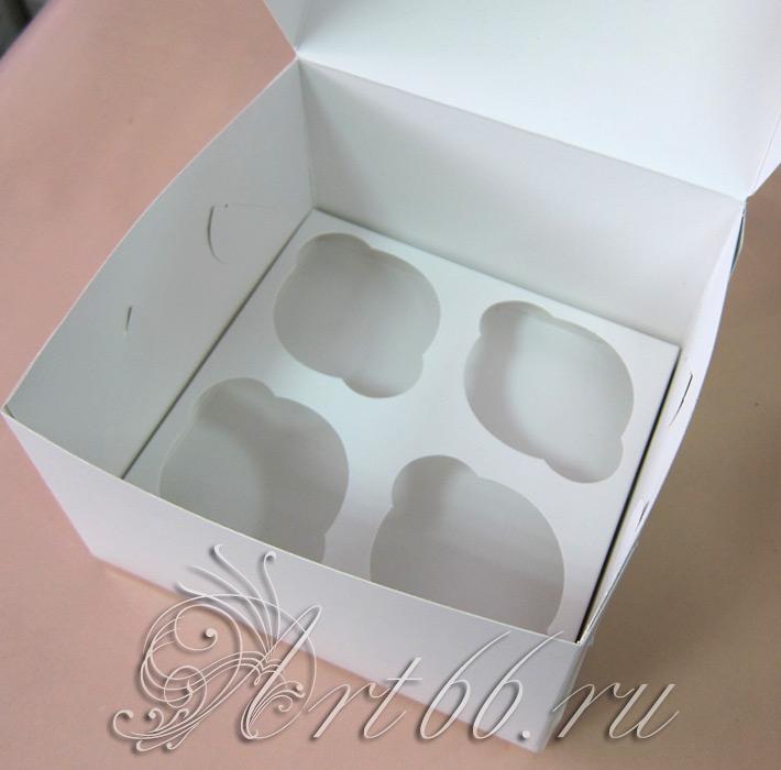 Коробка для кексов как сделать 290
