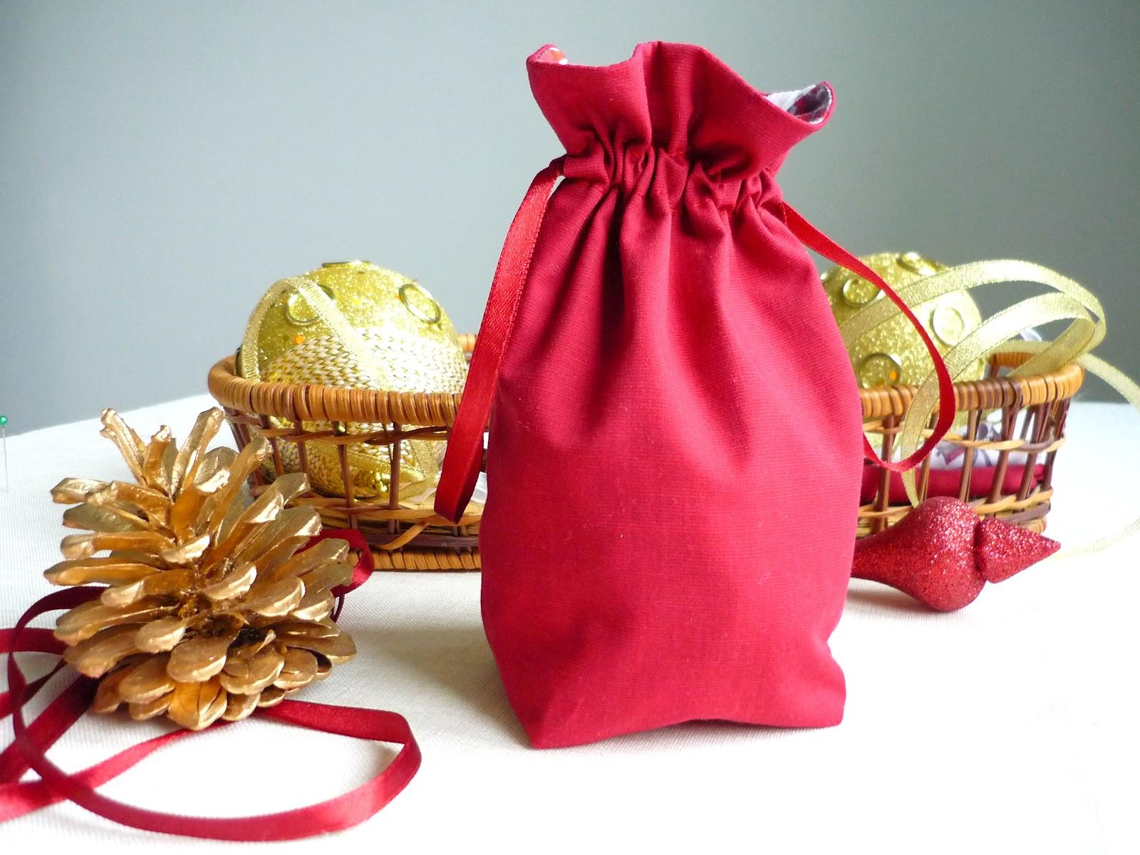 Мешок для подарков как его сшить
