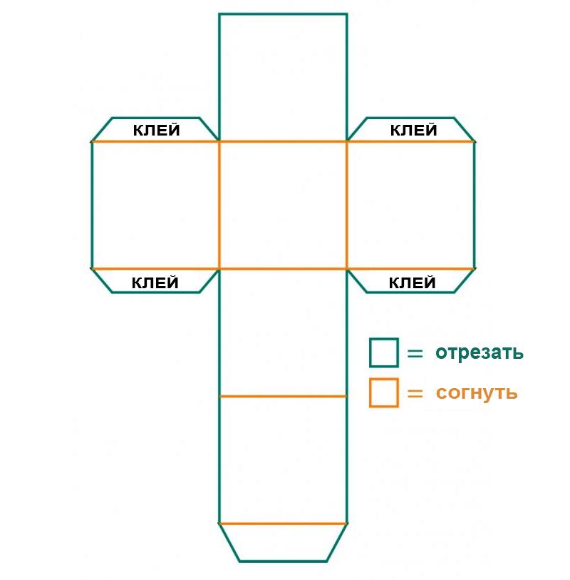 Как сделать коробку своими руками из бумаги с крышкой