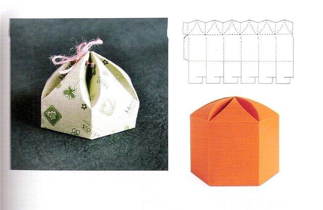 Как сделать коробку для подарка самостоятельно