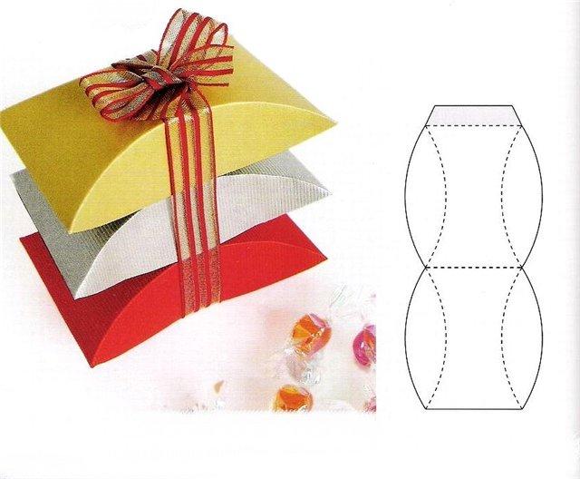 Как своими руками сделать подарок из картона
