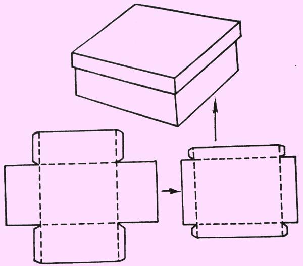 Как делать красивые коробочки своими руками видео