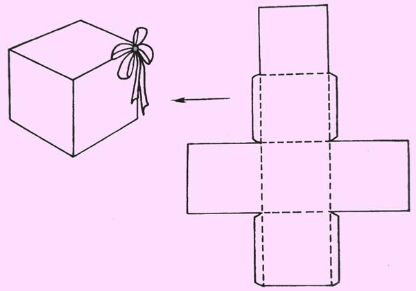 Как сделать своими руками коробочку из бумаги