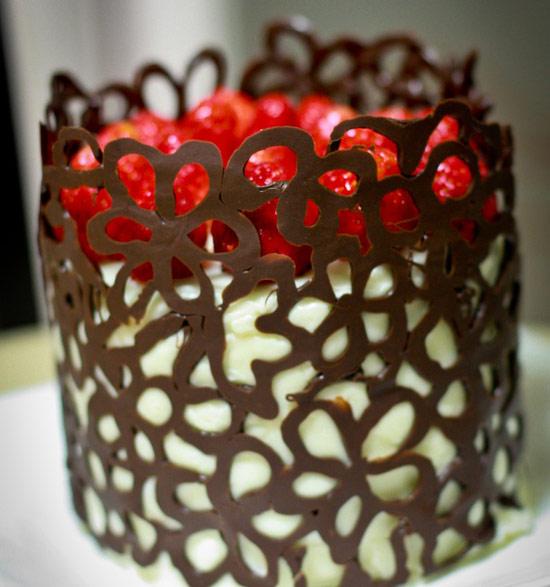 Украшение из шоколада для торта своими руками для начинающих