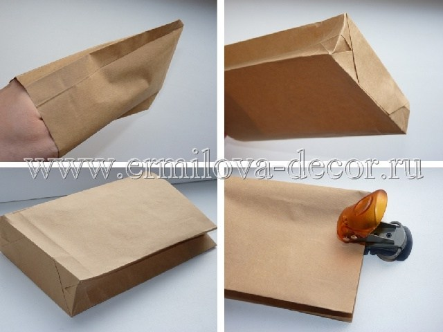 Пакет для бумаг сделать своими руками