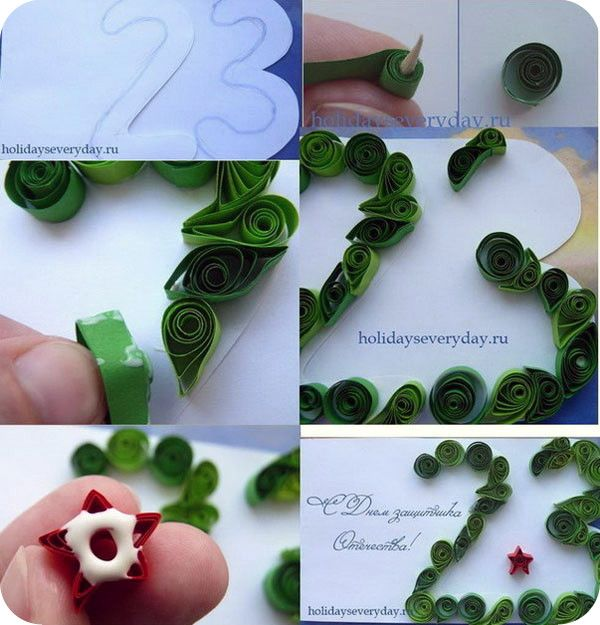 Как сделать открытку на 23 февраля своими руками рубашка с галстуком