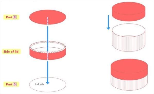 Как сделать квадратную картинку круглой - Pizza e Birra