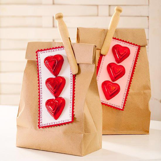 упаковки сладостей к дню всех влюбленных