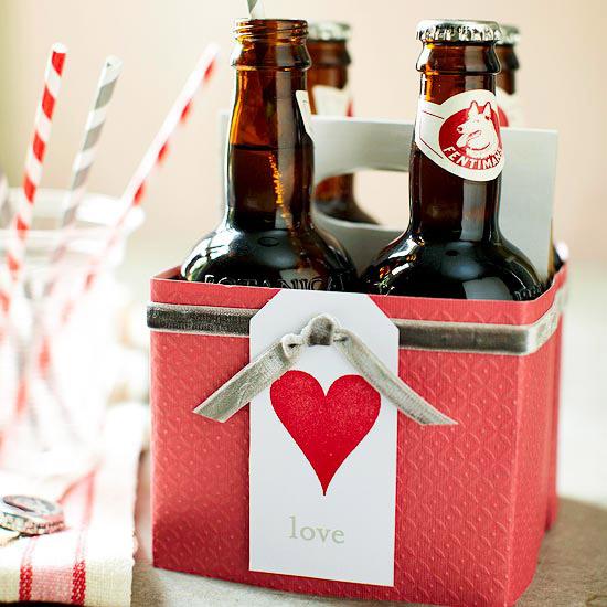 подарочная упаковка алкоголя к 14 февраля