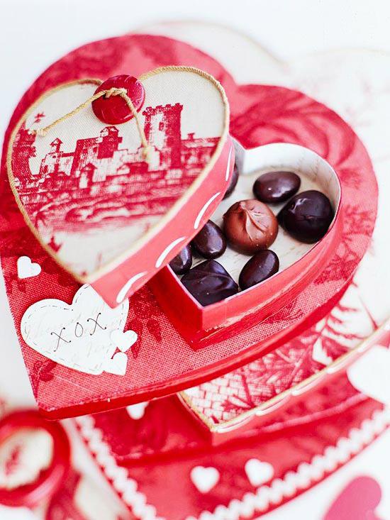 конфеты к дню святого Валентина