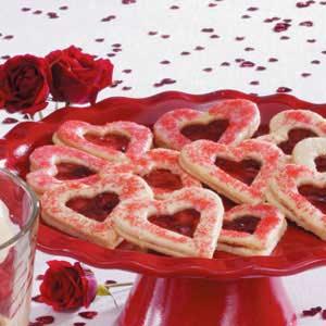 сладкие сердца ко дню Валентина
