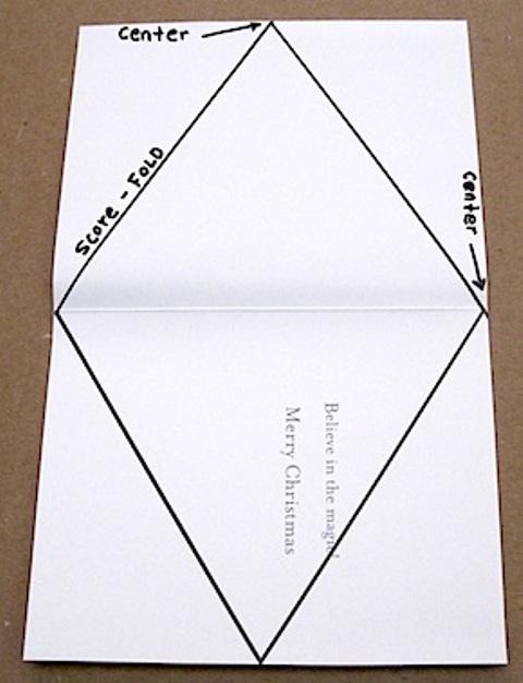 Как сделать треугольник 10 на 10 из бумаги