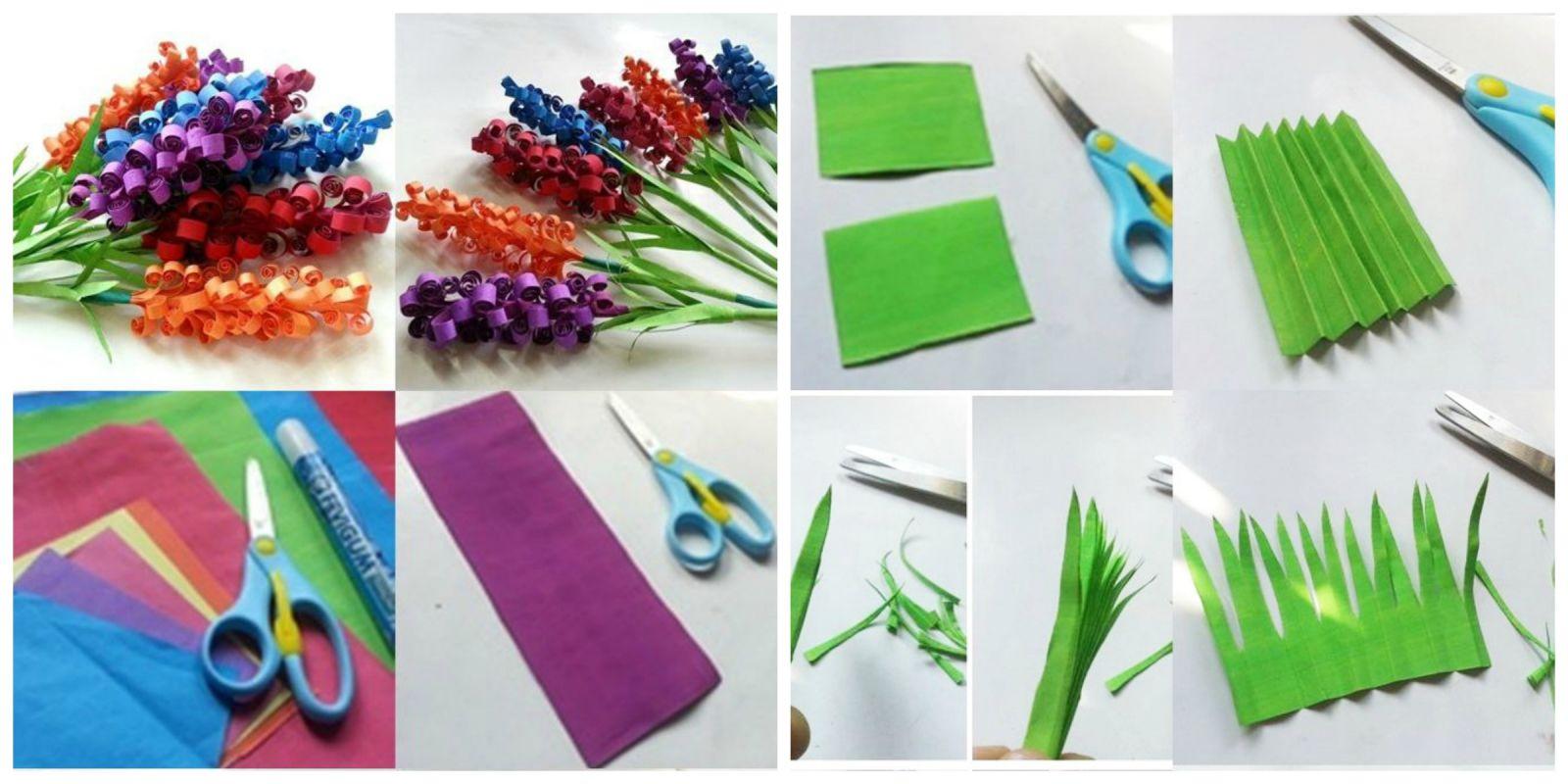 Подарки из бумаги своими руками на день рождения цветы