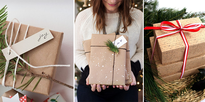 Как красиво оформить подарок в подарочную бумагу