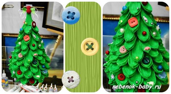Новогодние игрушки из бумаги на елку мастер класс фото