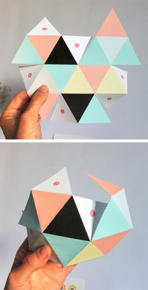 Как сделать геометрические фигуры из бумаги своими руками