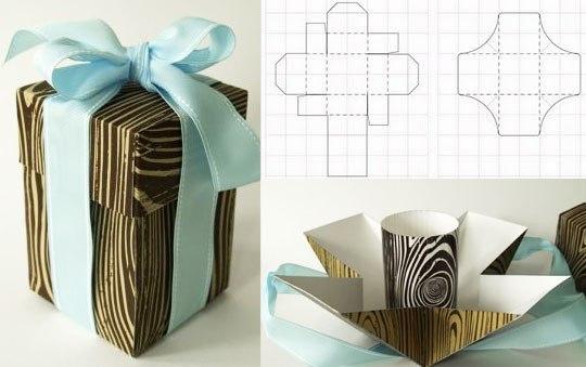 Дизайнерская коробка своими руками - Pacenote.Ru