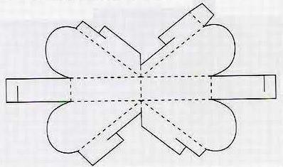 Коробочка своими руками из бумаги виде сердца
