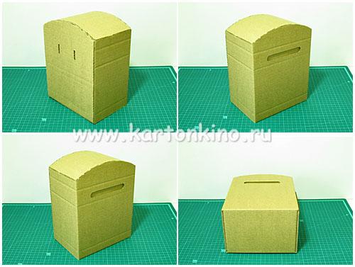Почтовый ящик своими руками из бумаги