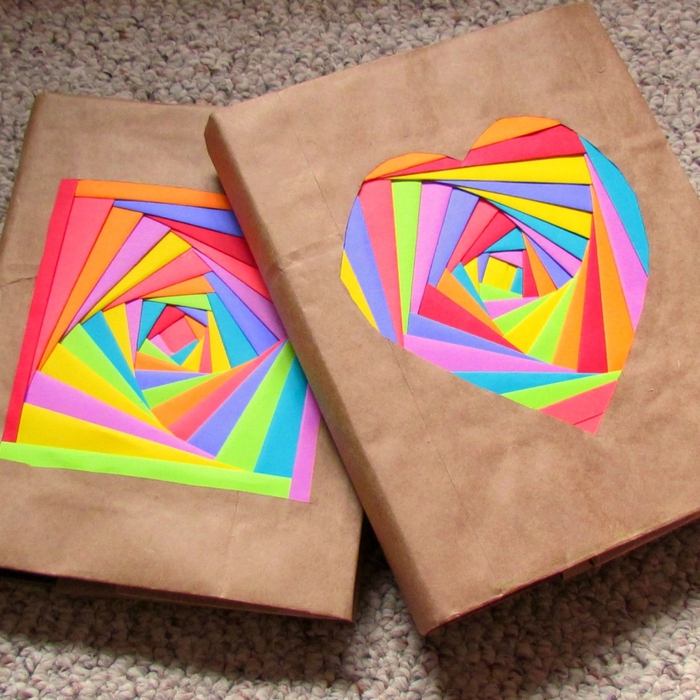 Как оформить бумагу своими руками