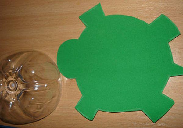 Как сделать черепаху своими руками из пластиковой бутылки