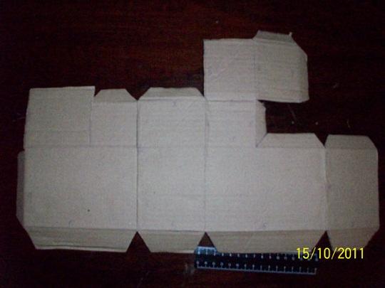 Сделать печку из бумаги