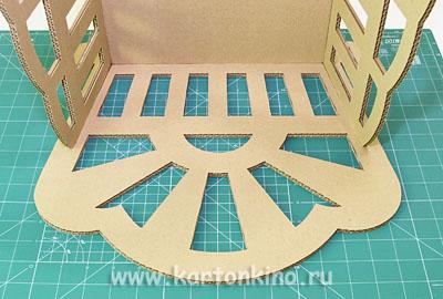 Как сделать кроватку качалку из картона для куклы