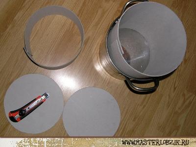 Как сделать кастрюлю из бумаги