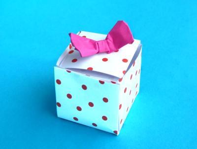 Подарочные коробки своими руками оригами