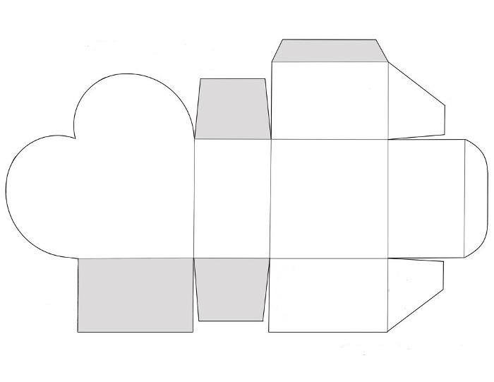 Схемы коробочек из картона своими руками фото