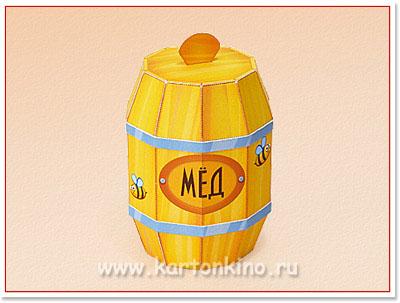 Сделать бочонок для меда своими руками