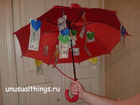 Зонт подарок на свадьбу стихи 11