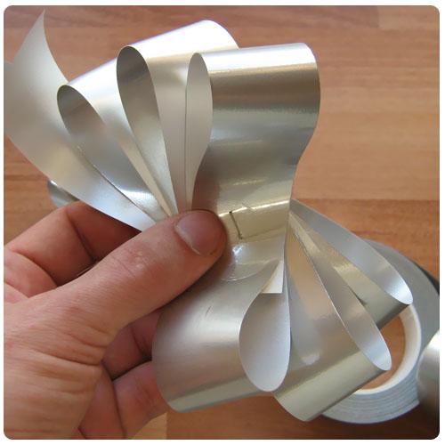 Как сделать бантик из ленты из бумажной ленты своими руками
