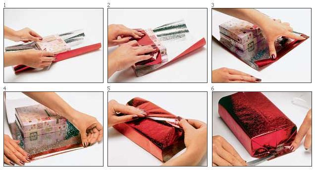 Как красиво упаковать подарок своими руками бумагой