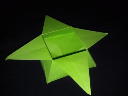Как сделать оригами коробочку звезду - Твой рабочий стол