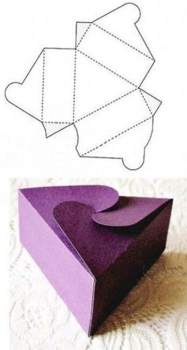 Как сделать коробочку из картона пошагово