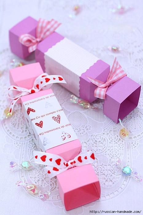 Как оформить коробочку для подарка своими руками