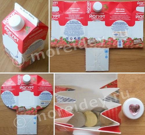 Поделки из молочной продукции