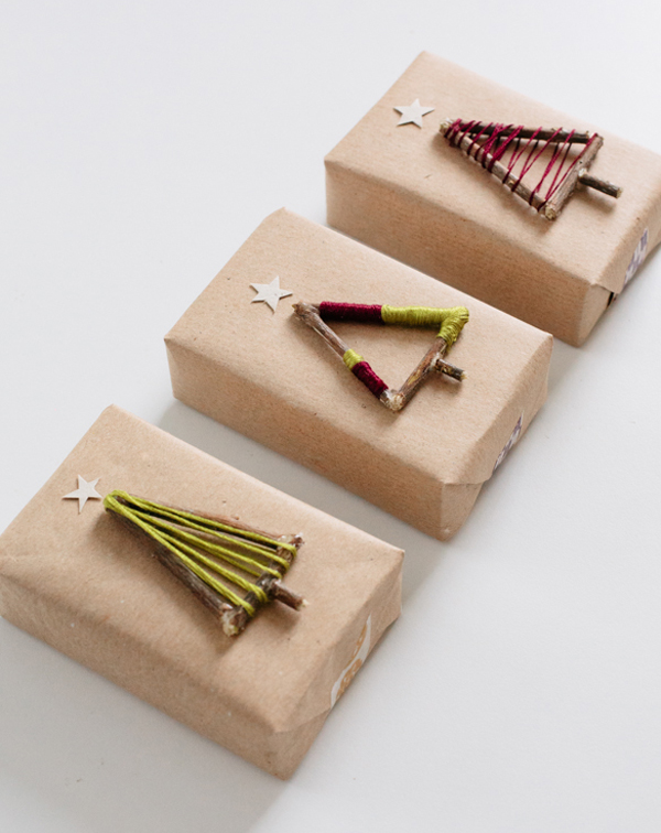 Упаковка подарка в крафт бумагу мастер класс 50