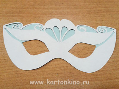 Как сделать из бумаги и картона маску белки