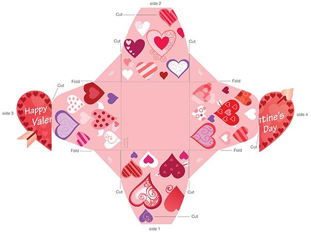 Коробочка ко дню святого валентина своими руками