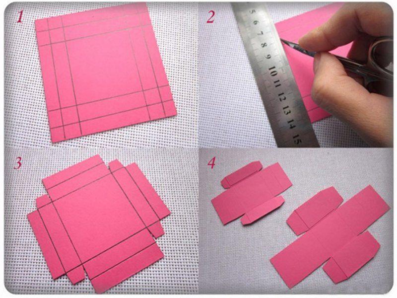 Пошаговая инструкция как сделать коробку своими руками