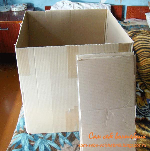 Ящик картон хранение