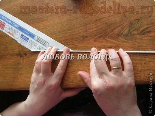 Мастер-класс: Как сделать трубочки для плетения из газет