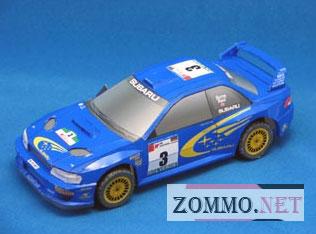Subaru Impreza-WRC-2000 из бумаги