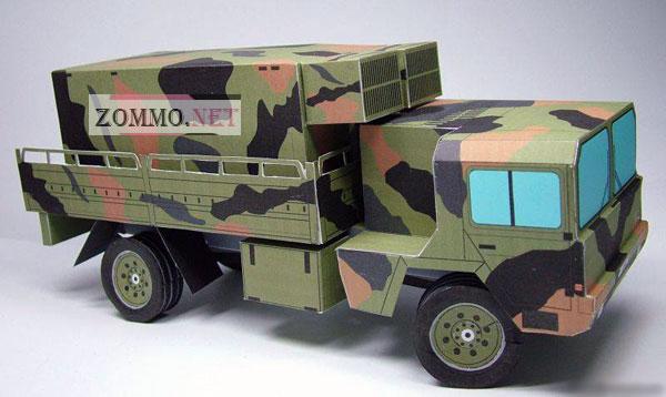 Военная машина MAN 10t Feuerleit ECS